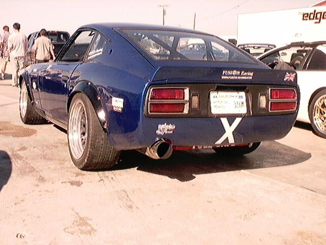 SR powered 260Z rear