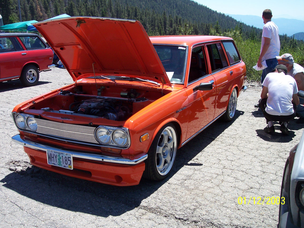 Brian Joseph's Pro Touring Tubbed VG Wagon with 4 Link
