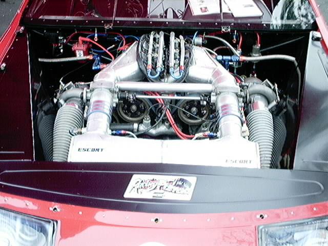 Z32 300zxTT drag car engine