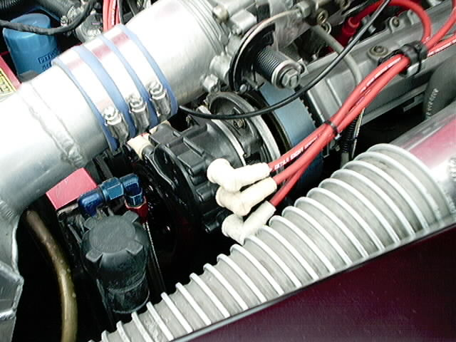 Z32 4 cam motor with custom made dist.