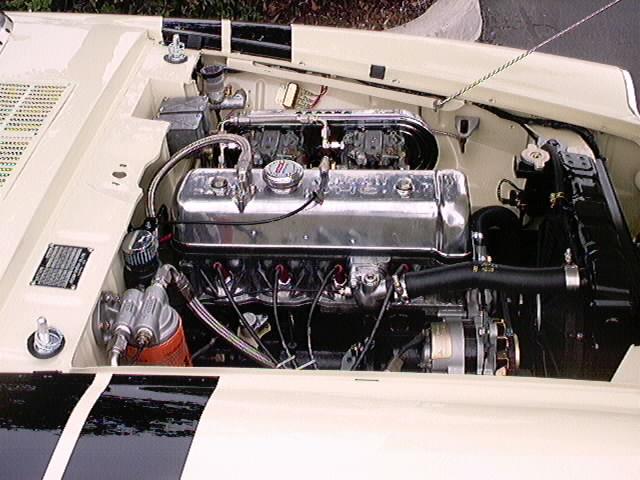 Jack Scoville's 67 1/2 Roadster SRL000004 eng.