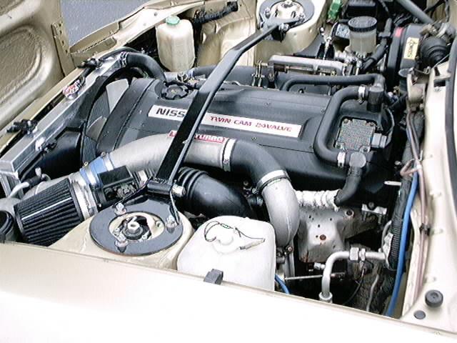 RB26DETT in a JDM 280zx
