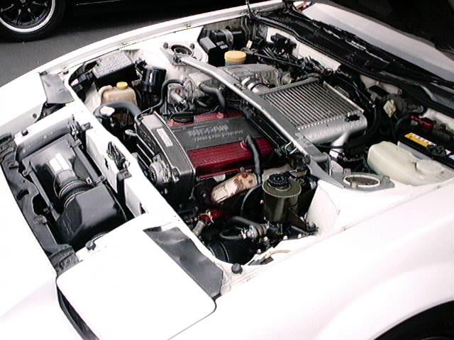 RB motor stock in a JDM 200zxt