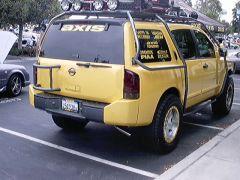 AXIS Nissan Armada rear