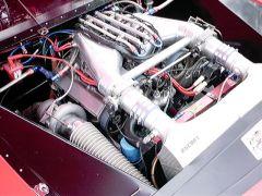 Z32 300zxTT drag car engine 2