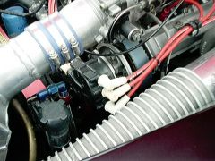 Z32 4 cam motor with custom made dist.