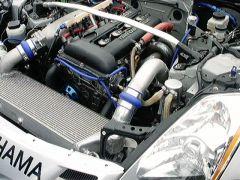SR20det  S13 motor in a 350Z drift car 2