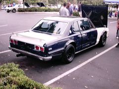 C10 Skyline GT  rear, to bad its not a GTR