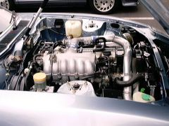 RB power in a JDM blue, flared 280zx 2