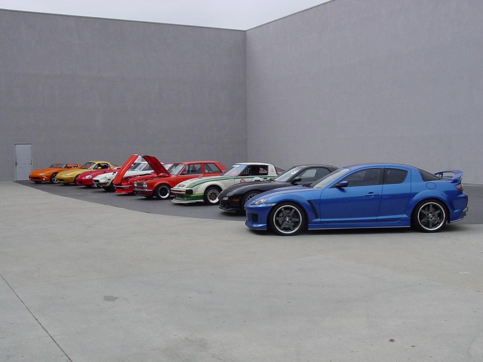 Mazdaspeed Dream Garage!