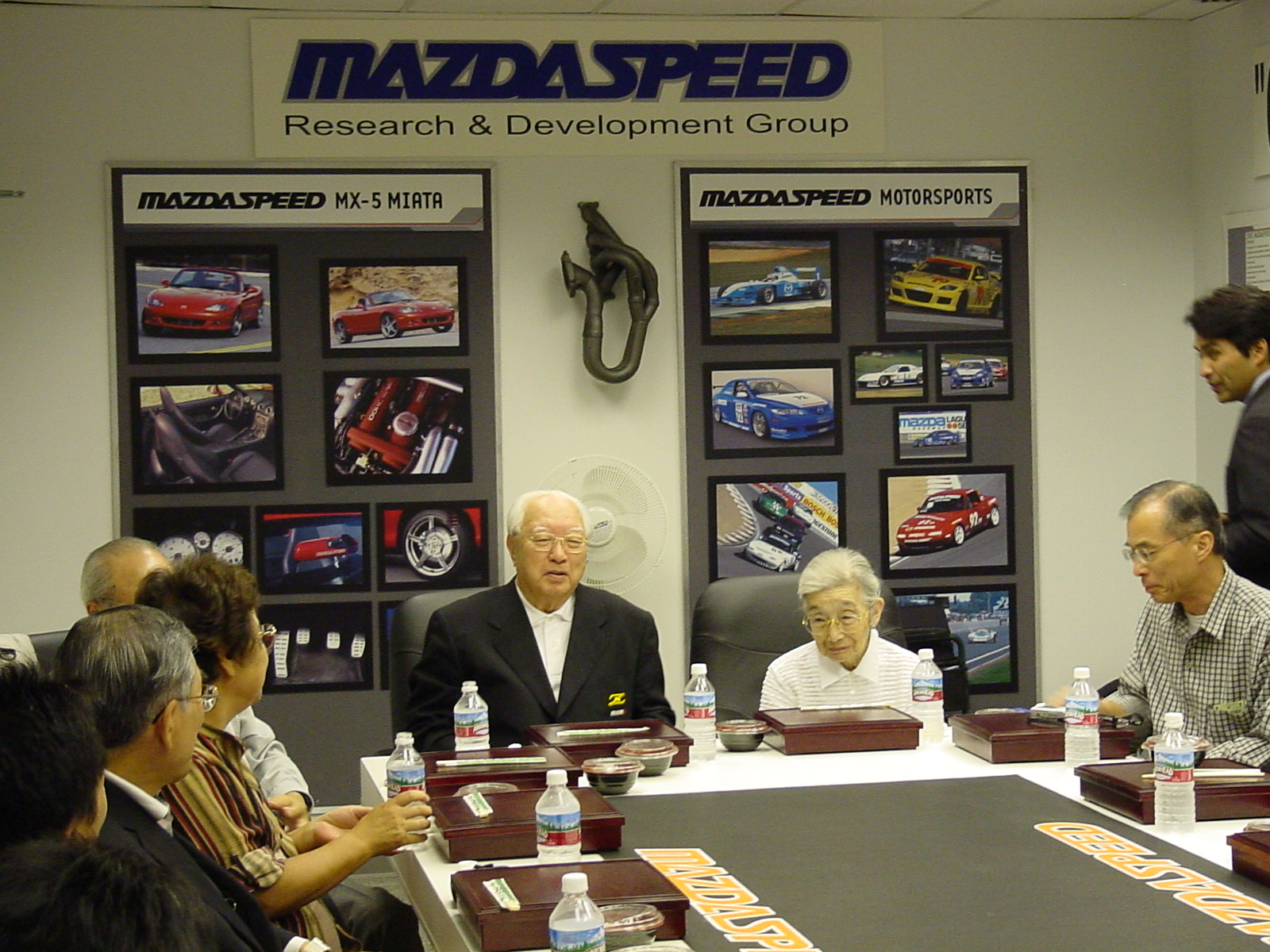 Lunch with Mr. K and Mrs. K at Mazdaspeed