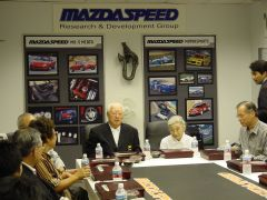 Mr. K at Mazdaspeed
