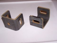 rear x-member inner bracket
