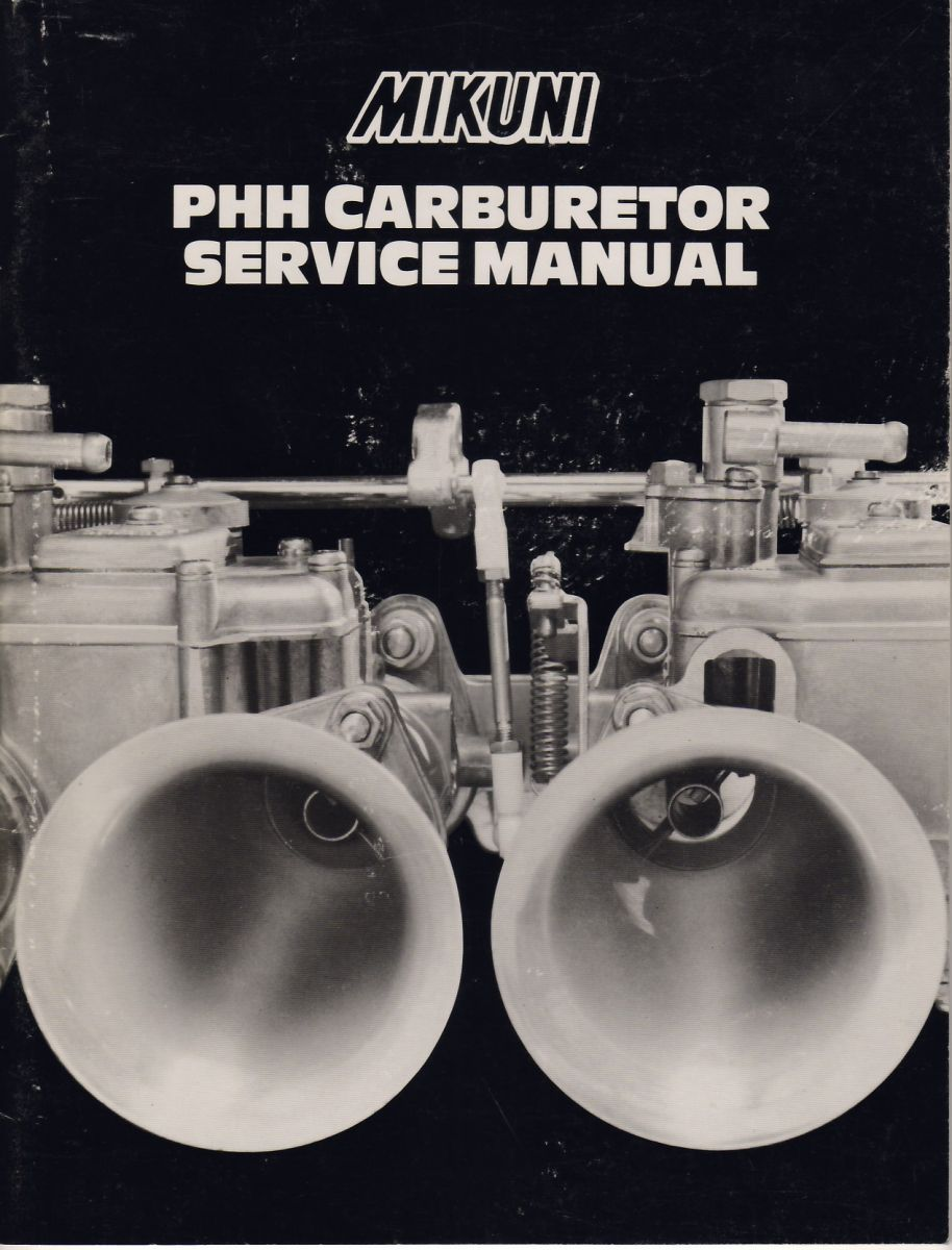 Mikuni PHH Carb Manual