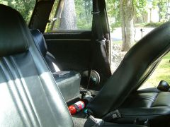 200SX seat belts