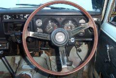 1970 P510 SSS 4 door sedan Dash
