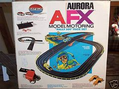 AFX Datsun race set
