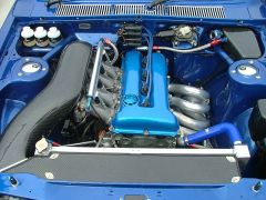 Walmsley 510 engine bay