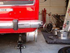 rear view, looks like a fat wheel