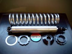 Bolt on forged aluminium rear coilover,