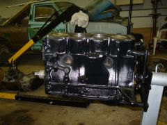 side engine view