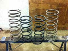 1979 Honda Accord springs and stock 710 springs