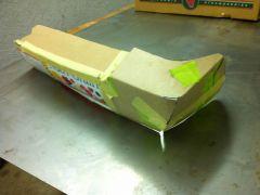 Bumper end - cardboard