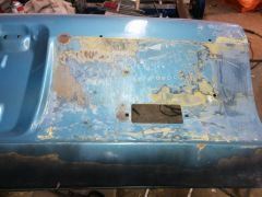 """Liftgate after """"wood"""" removed"""
