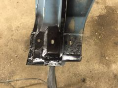 Inner fender frame repaired