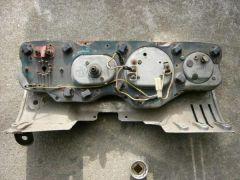 '69 SSS gauge cluster rear