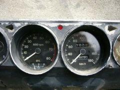 '69 SSS gauge cluster tach