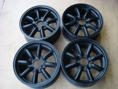 Black Racing Rims 1