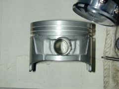VG30E full floating wrist pin piston