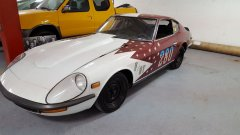 Datsun 240Z Land Speed Record Racecar