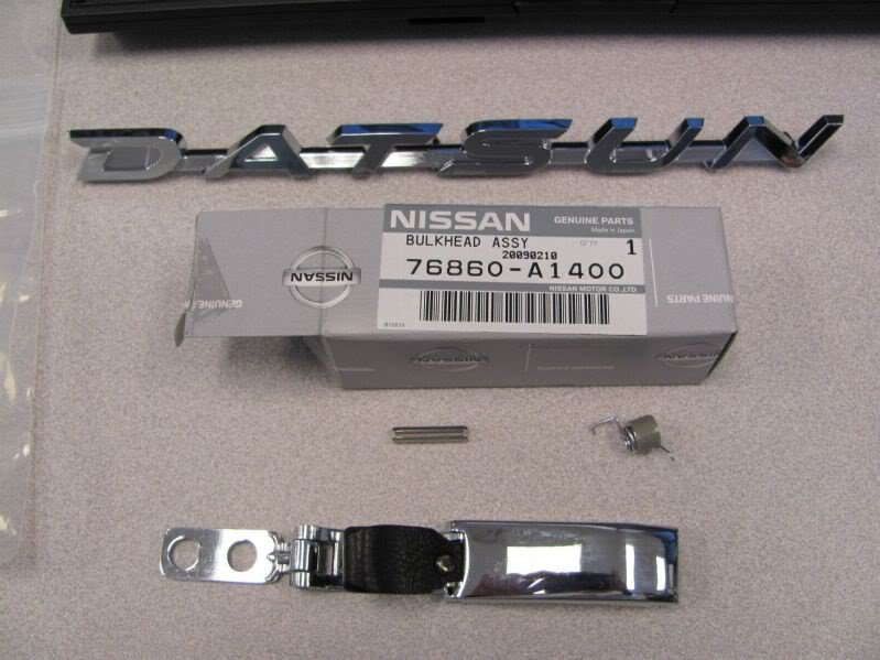 WTB rear window latch for 510 coupe - The 510 Realm