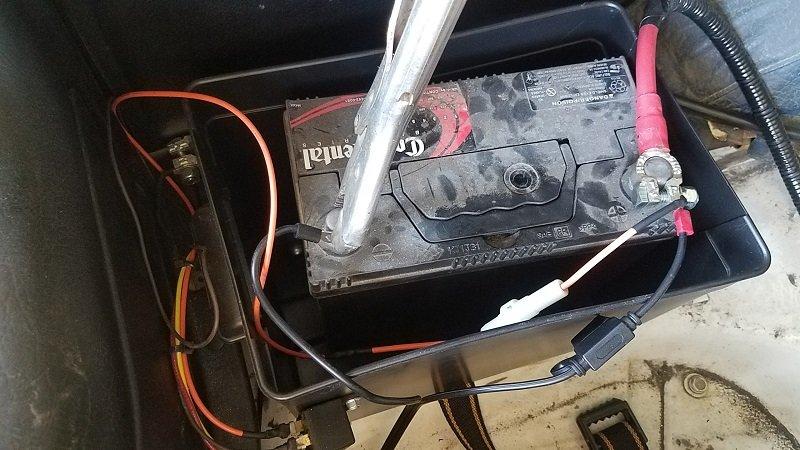 Fuel pump fuse