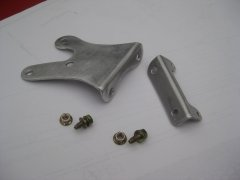 Aluminum Steering Box Brace Components View