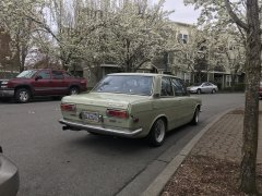 Cactus Green 1972 FJ20 Powered Datsun 510 2dr
